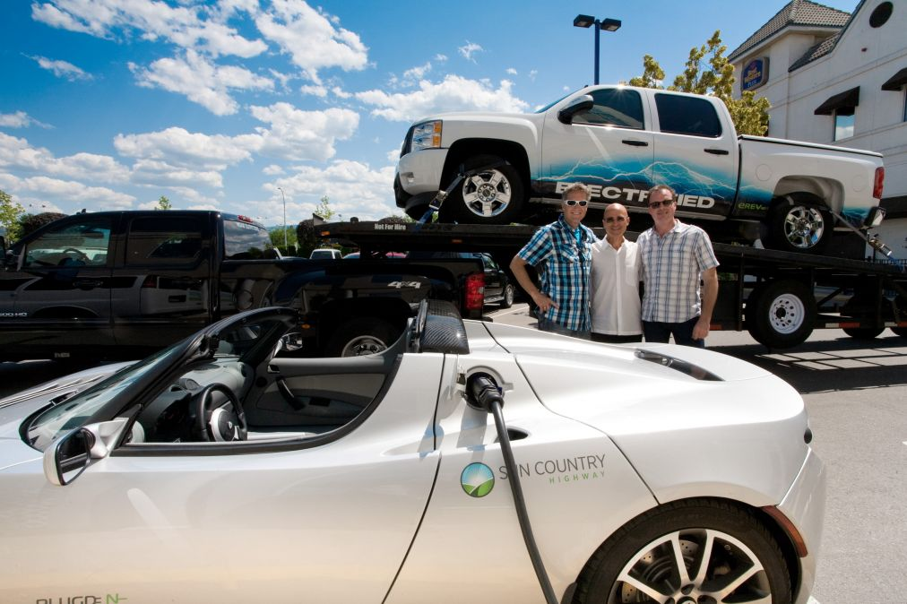 EV charging stations are just one of the initiatives that make Best Western Kelowna one of the best hotels in Kelowna for environmental stewardship.