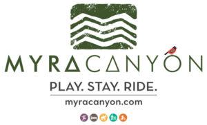 image of the logo for Myra Canyon Ranch in Kelowna, British Columbia, Canada