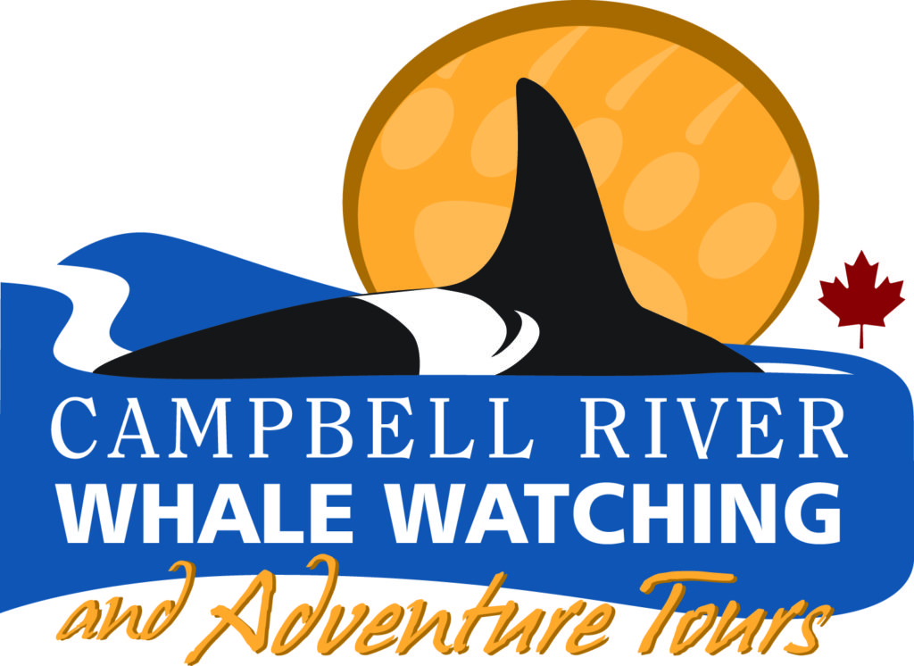 campbell river whale watching and adventure tours logo